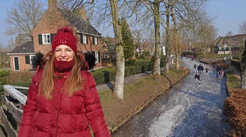 Μία μοναδική εμπειρία στο παγωμένο Giethoorn