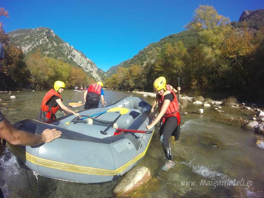 Rafting στον Εύηνο, Ναύπακτος