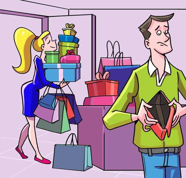 Πολλά ψώνια...